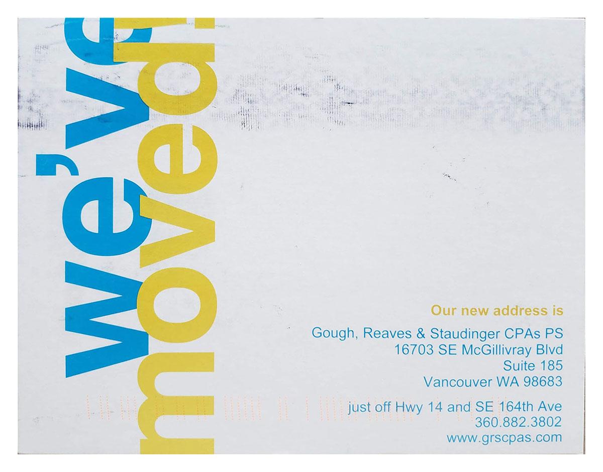 address change notification postcard
